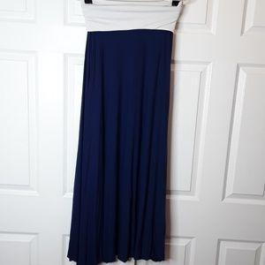 Victoria's Secret Strapless Maxi Dress